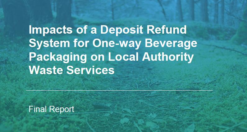 Impacto de un sistema de deposito, devolución y retorno para envases de bebidas de un solo uso en la gestión de residuos de las Entidades Locales