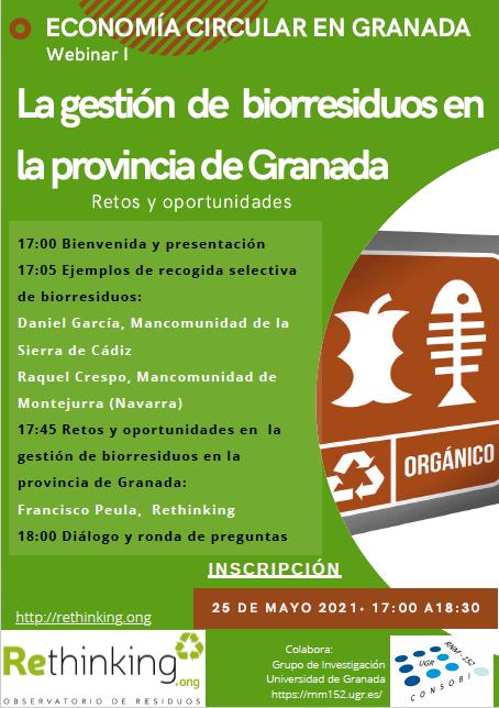 La gestión de los biorresiduos en la provincia de Granada