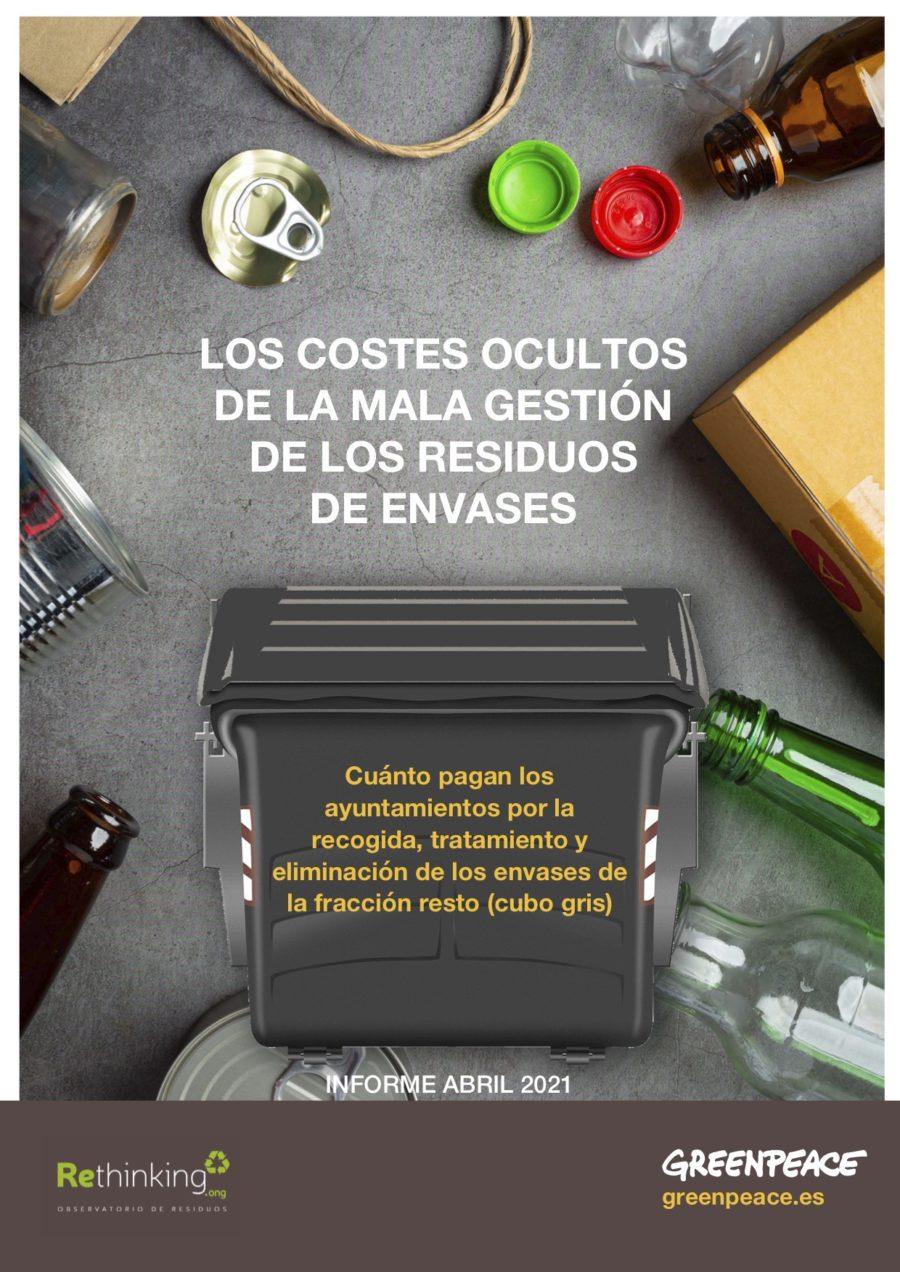 Los costes ocultos de la mala gestión de los residuos de envases